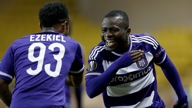 Europa League: Echiejile Goes Down With Monaco To Ezekiel's Anderlecht