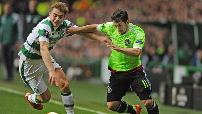 Europa League: Ambrose Dropped As Celtic Crash Out