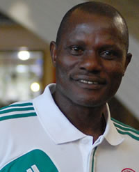 Agu Drills Three Eagles Goalkeepers