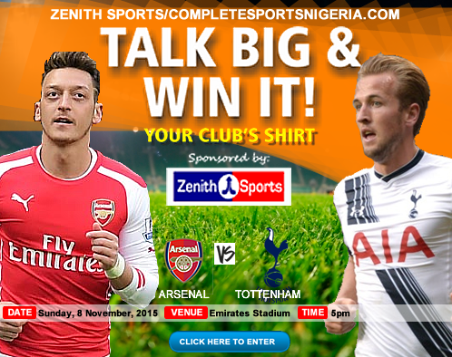 The Winners: Arsenal Vs Tottenham – Talk Big & Win It!