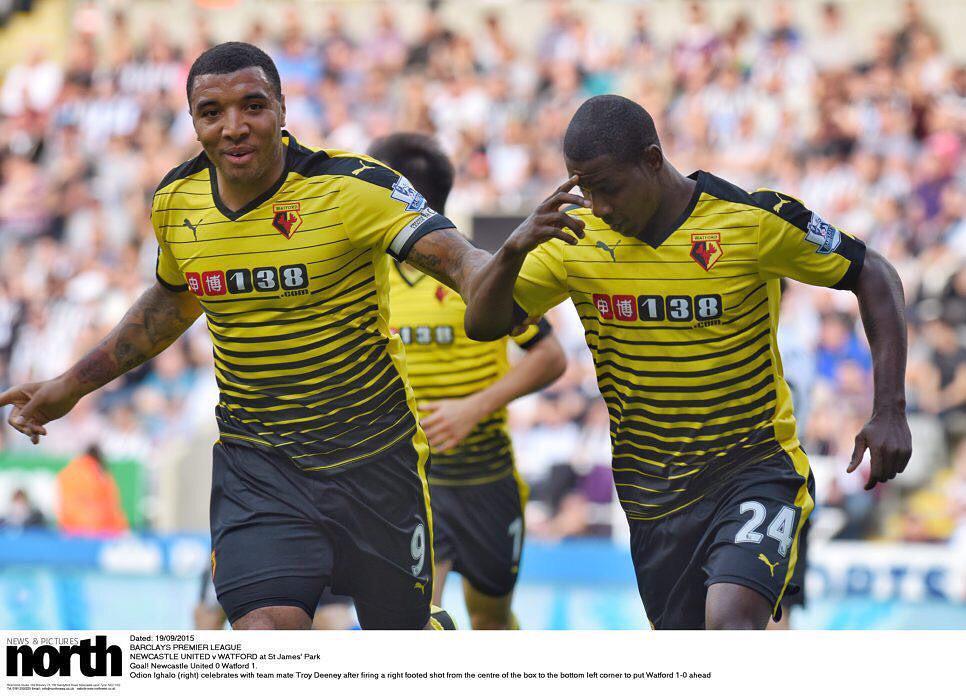 Arsenal Legend Wright Impressed With Deeney, Ighalo Partnership