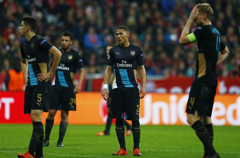 UCL: Arsenal Face Early Exit After Bayern Demolition, Chelsea Snatch Late Win