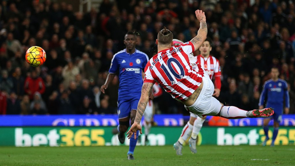 Chelsea Suffer Historic Defeat As Stoke Snatch Slim Victory