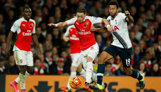 Arsenal, Tottenham Share EPL Spoils At Emirates
