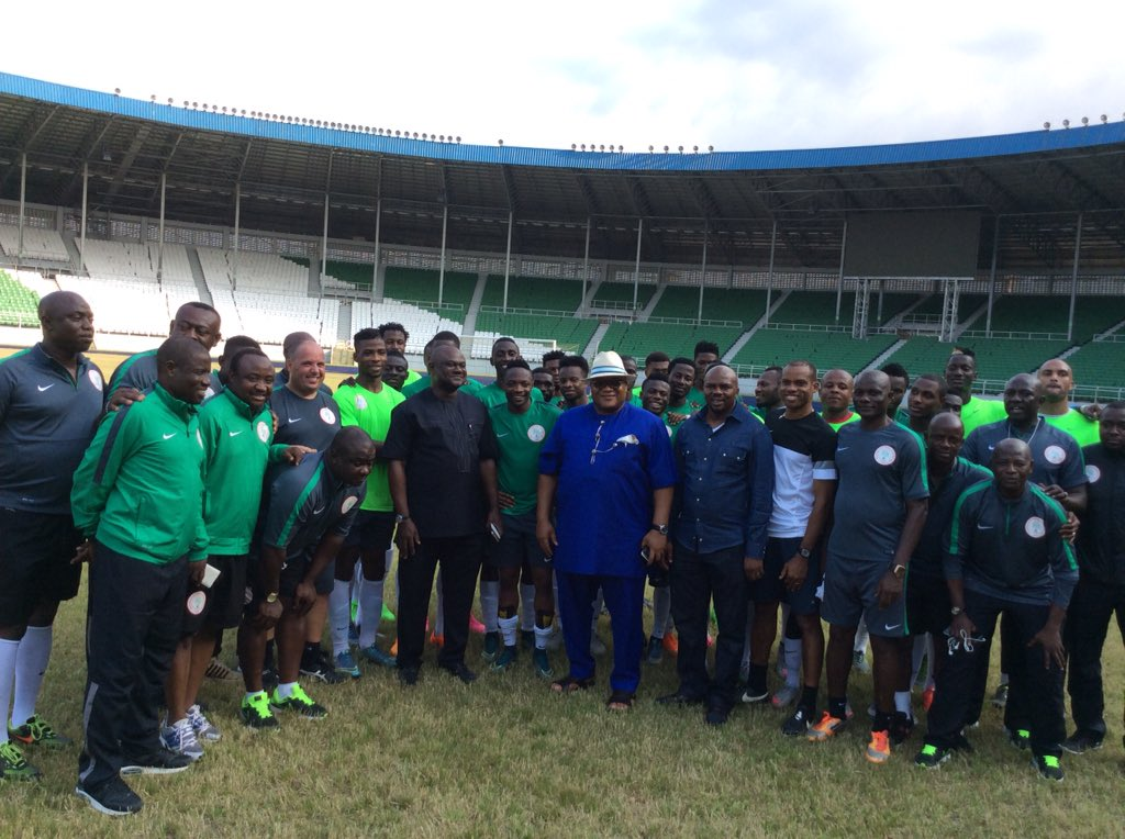 Rivers Govt Promises Eagles $20k Per Goal Vs Swaziland