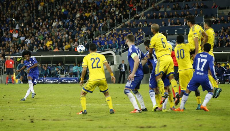 UCL: Chelsea Bash Maccabi Tel Aviv But Yet To Advance