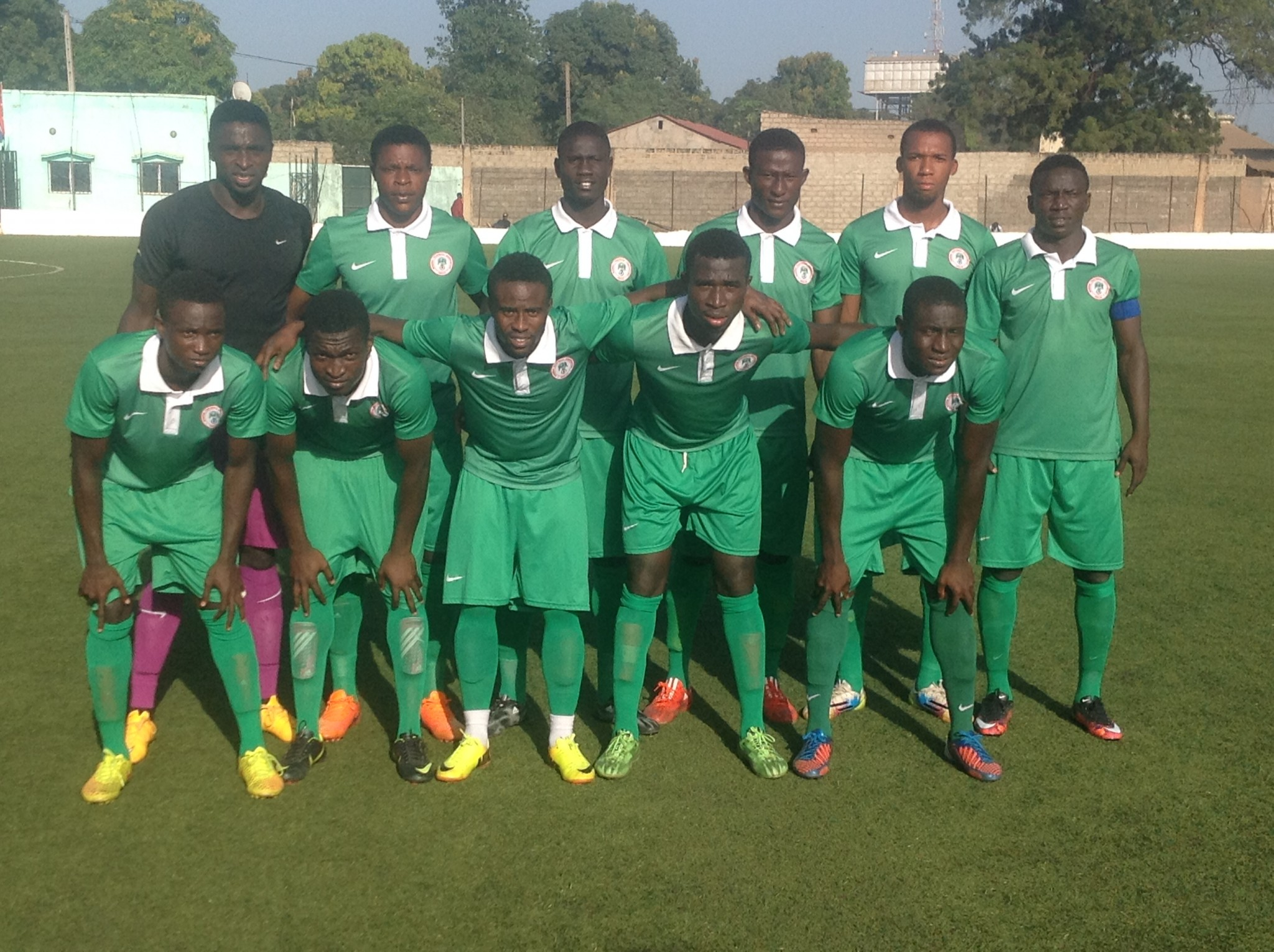 U-23 Eagles Rejoice Over Siasia Mother's Release