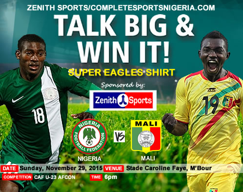 The Winners: Nigeria Vs Mali – Talk Big & Win It!