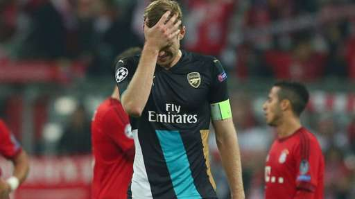 Mertesacker: Arsenal Can Still Qualify After Munich Massacre
