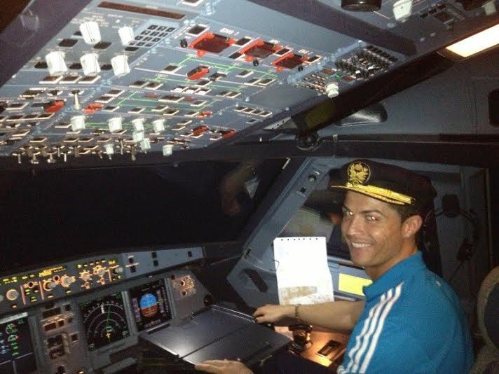 Cristiano Ronaldo Buys €19 Million Private Jet