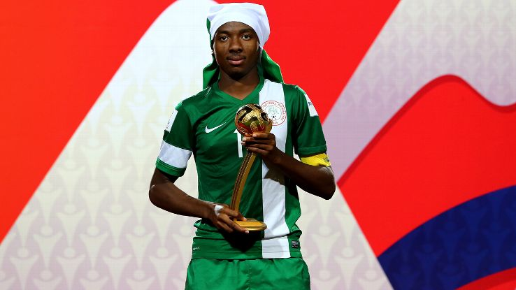 Chelsea Join Race For Golden Eaglets' Kelechi Nwakali