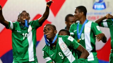 Image result for golden eaglets 2007 squad