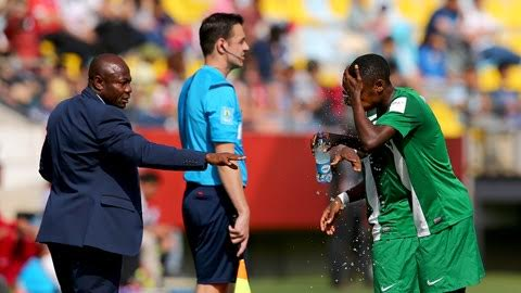 Amuneke: No Golden Eaglets Injuries Ahead Of Mexico Clash