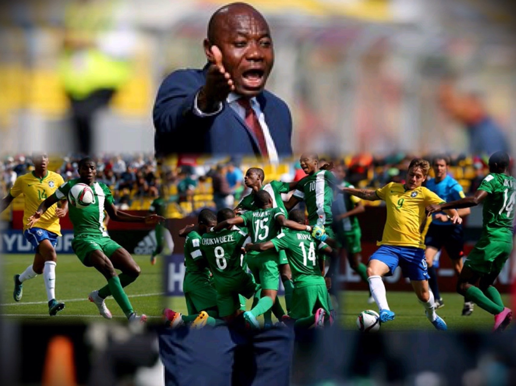 Golden Eaglets Too Good For Brazil, Cruise Into Semi-Finals