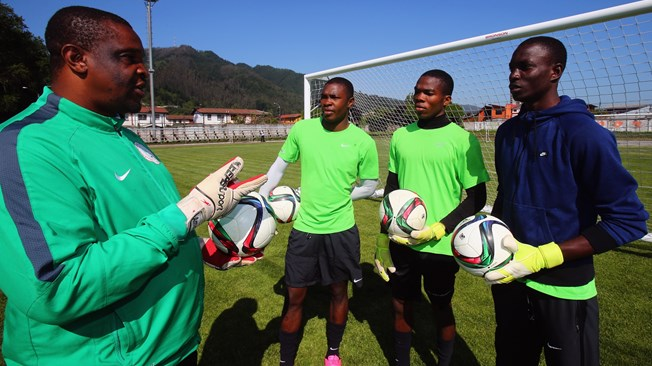 Golden Eaglets Keepers, Trainer Unite Against Mexico