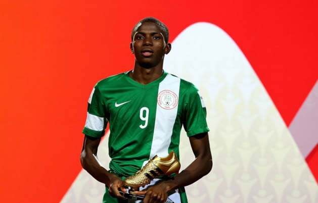 Osimhen: King Of FIFA U17 W/Cup Top Scorers