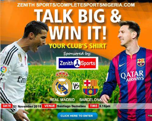 The Winners: El Clasico – Real Madrid Vs Barcelona, Talk Big & Win It!