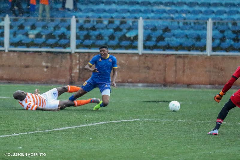 Salami Grabs Brace As Warri Wolves Maul FC Taraba