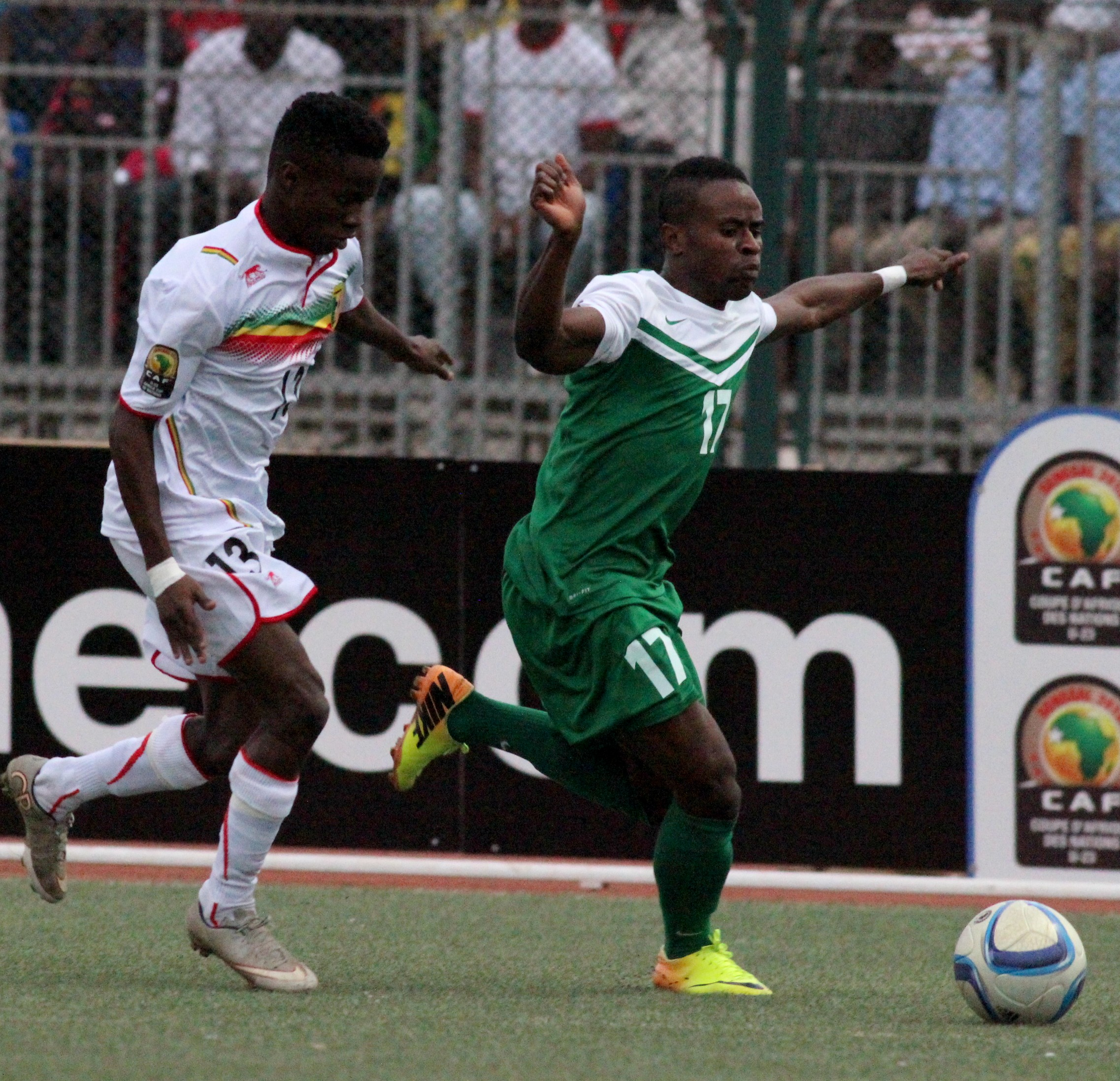 U-23 Eagles Beat Senegal, Qualify For Rio Olympics