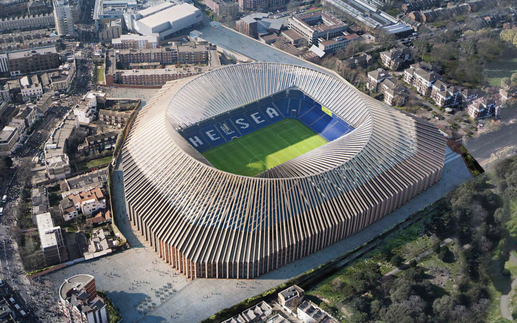 Chelsea Formalise Plans For New 60,000-Seat Stadium