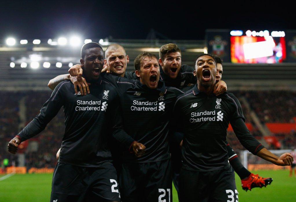 COC: Liverpool Thrash Southampton, To Face Stoke; City Vs Everton