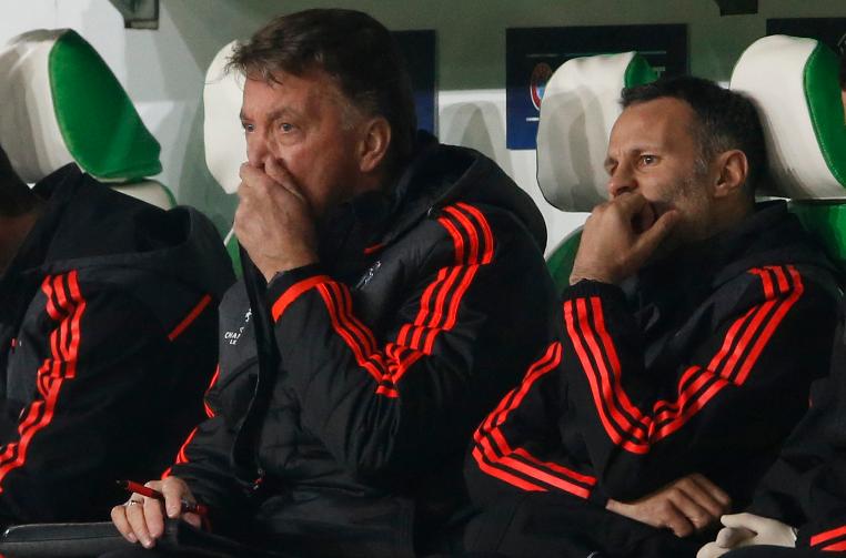 Van Gaal Blames Ref, Poor Defending For United's UCL Exit