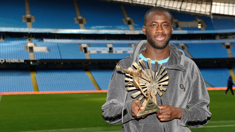 Yaya Toure Wins 2015 BBC African Footballer Of The Year Award