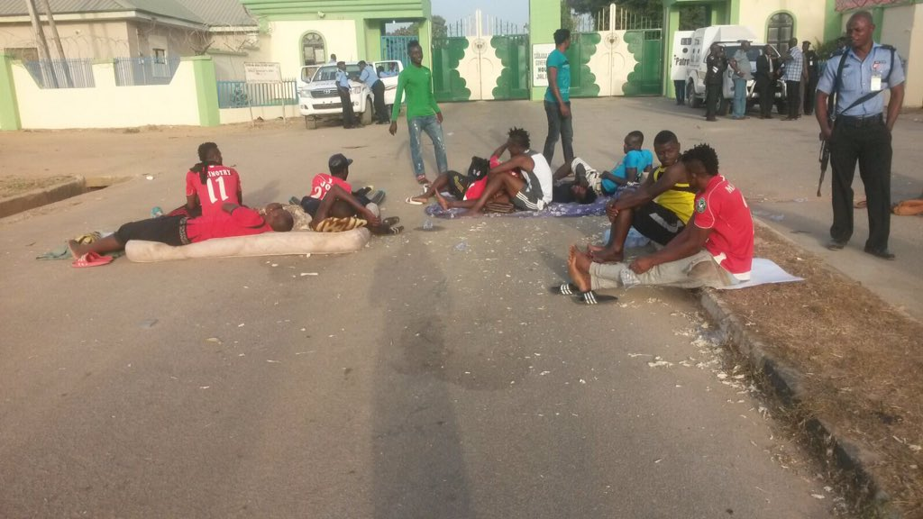Taraba Players Shun Chief Of Staff, Continue Strike