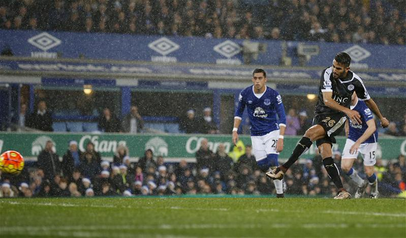 Leicester Edge Everton To Stay Top Of EPL