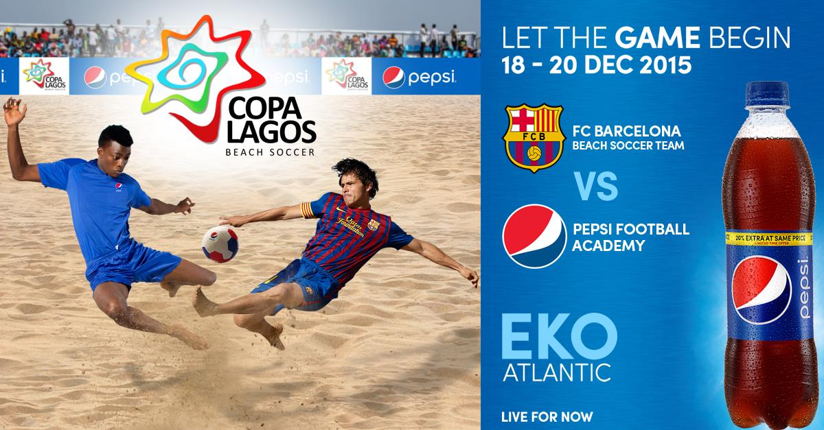 Beach Soccer, Beautiful Cheerleaders, Great Music, Fashion And All To Expect At Copa Lagos 2015