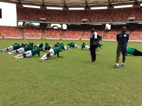 Oliseh Gives Home Eagles Training Break Ahead CIV Clash