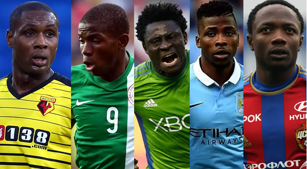 Ighalo, Musa, Martins, Iheanacho, Osimhen Up For Complete Sports Player Of The Year
