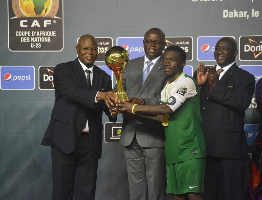 U-23 Eagles Captain Azubuike Named AFCON MVP