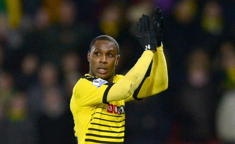 Watford Coach Hails Outstanding Ighalo