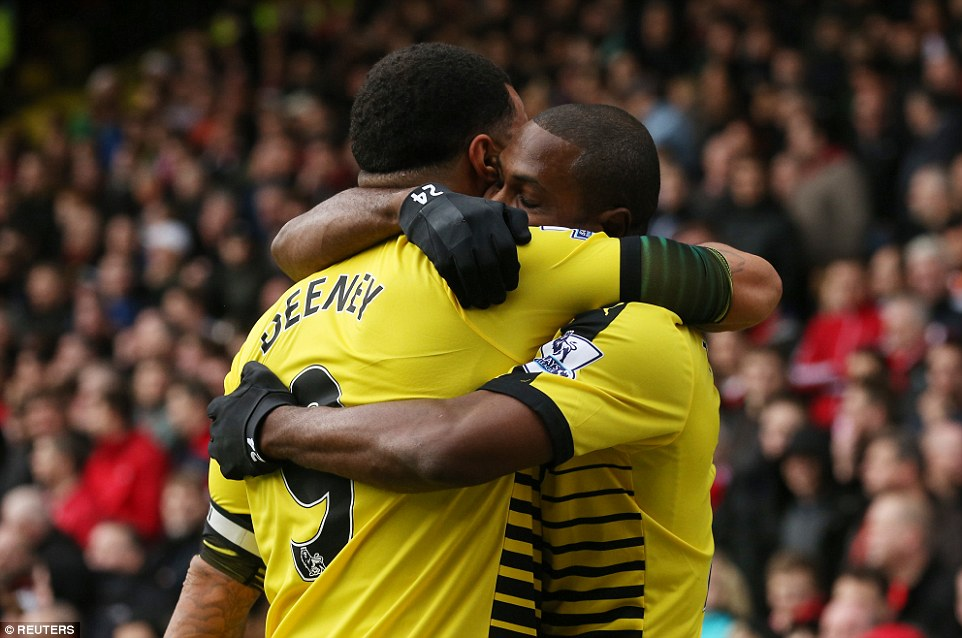 Ighalo: Team Work, Deeney Connection Gave Us Victory Over Liverpool