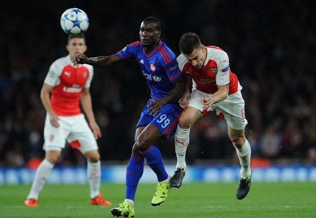 Ideye: People In England Want Olympiacos To Beat Arsenal