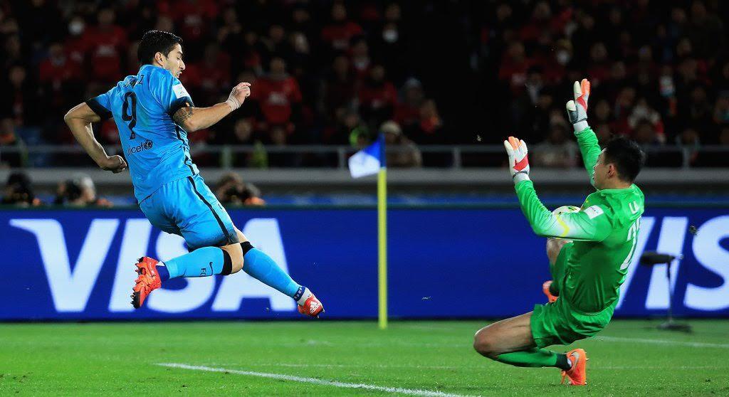 Club World Cup: Suarez Hat-trick Sends Messi-less Barca Into Final