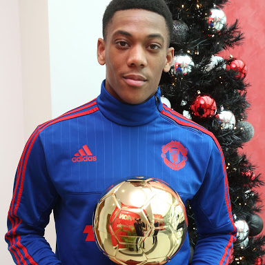 Martial Beats Iheanacho, Bellerin To Golden Boy Award