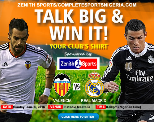 The Winners: Valencia Vs Real Madrid, Talk Big & Win It!