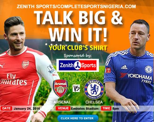 The Winners: Arsenal Vs Chelsea, Talk Big & Win It!