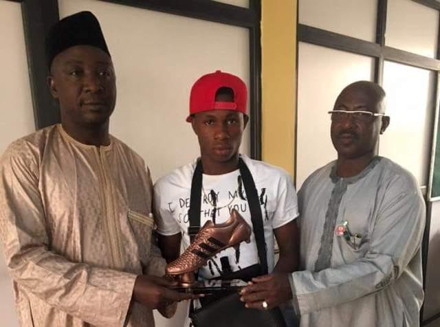 Excited Chukwueze Finally Receives U-17 World Cup Bronze Boot