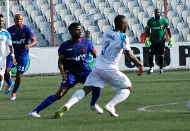 2015/16 Glo League: Enyimba Vs Dolphins Sets Tone On Match Day-1,‎ February 21