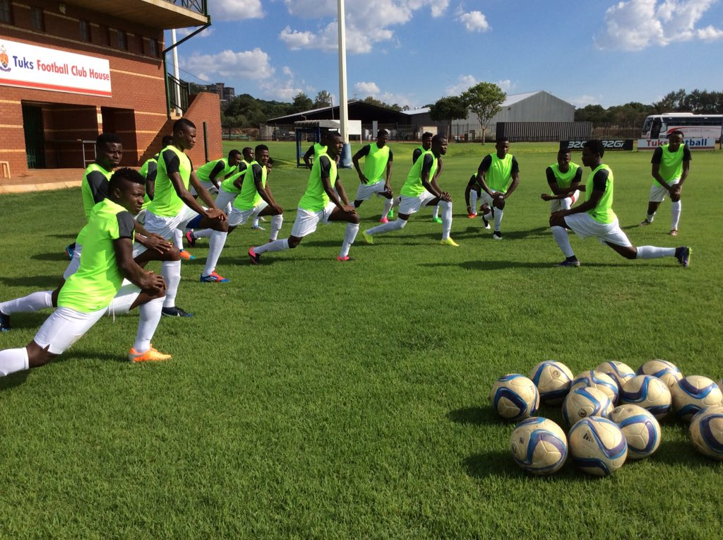 Home Eagles Hold First Training Session In Pretoria