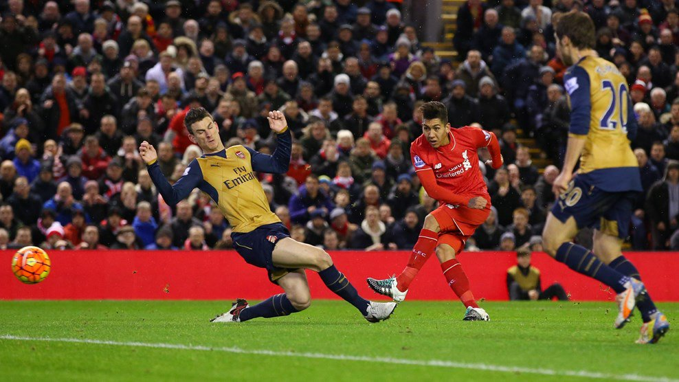 Arsenal Stay Top After Thriller At Anfield, Everton Stop City