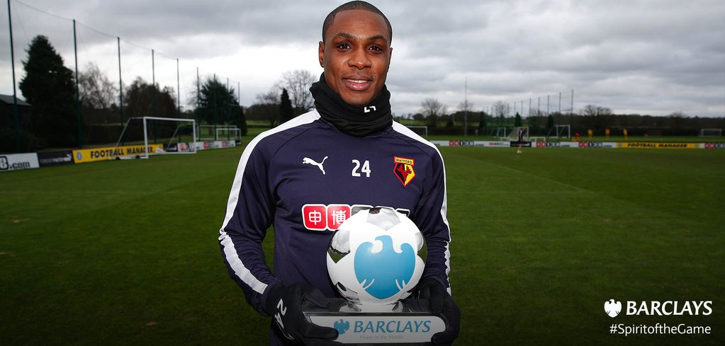 Adepoju Tips EPL Player Of The Month Ighalo For CAF Award
