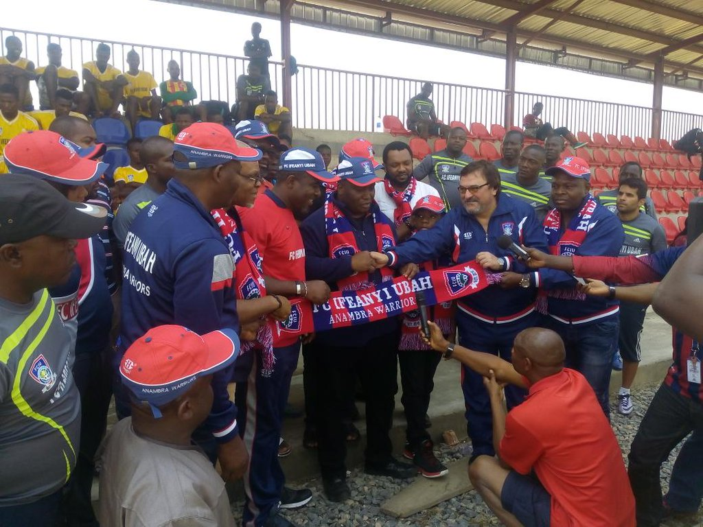 FC IfeanyiUbah Recall Bulgarian Coach, To Field Brazilians Vs MFM