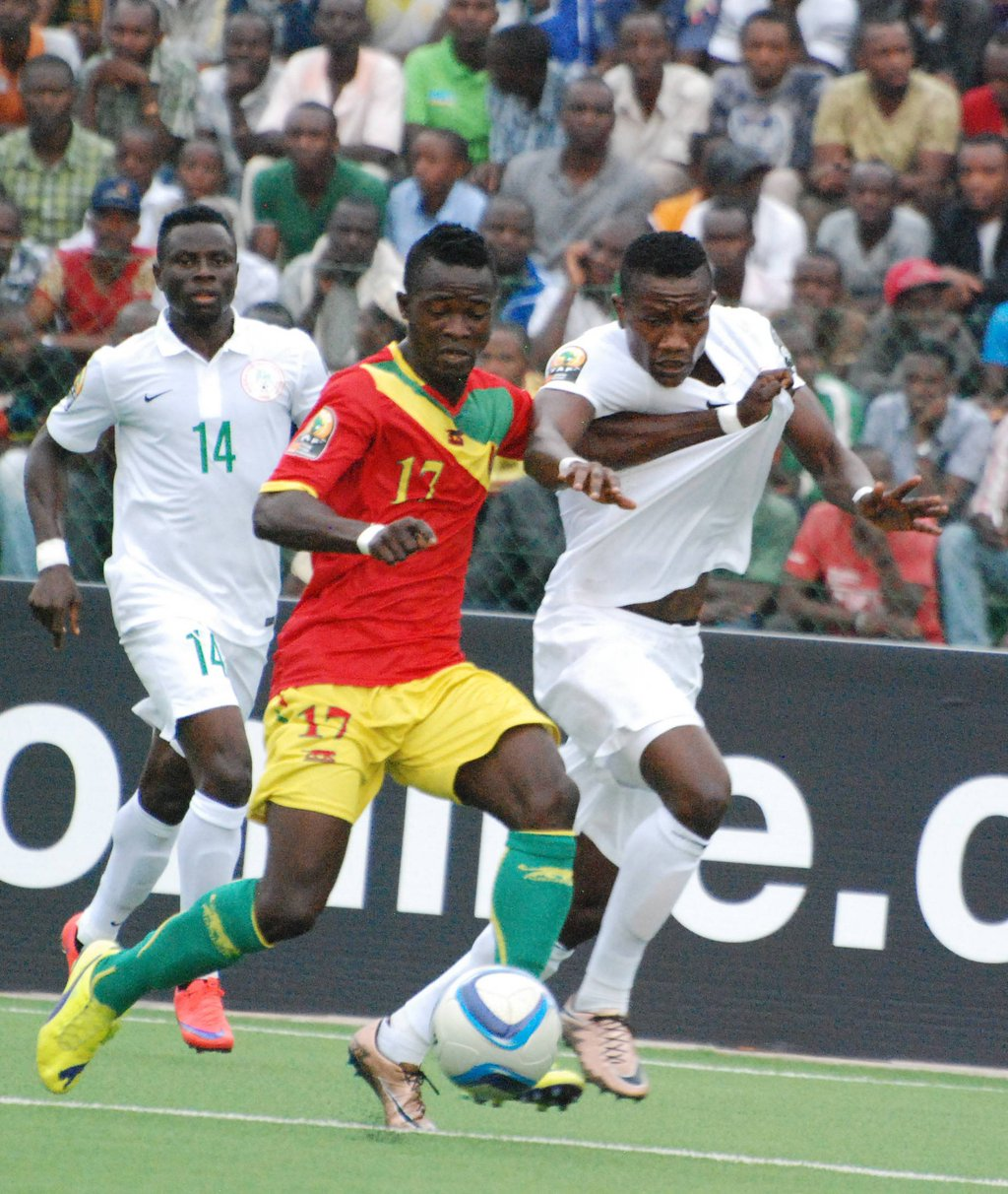 Eagles Fall To Guinea, Crash Out Of CHAN; Tunisia Through