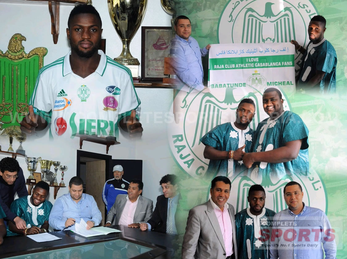 Babatunde To Earn 1.8m Euros At Raja