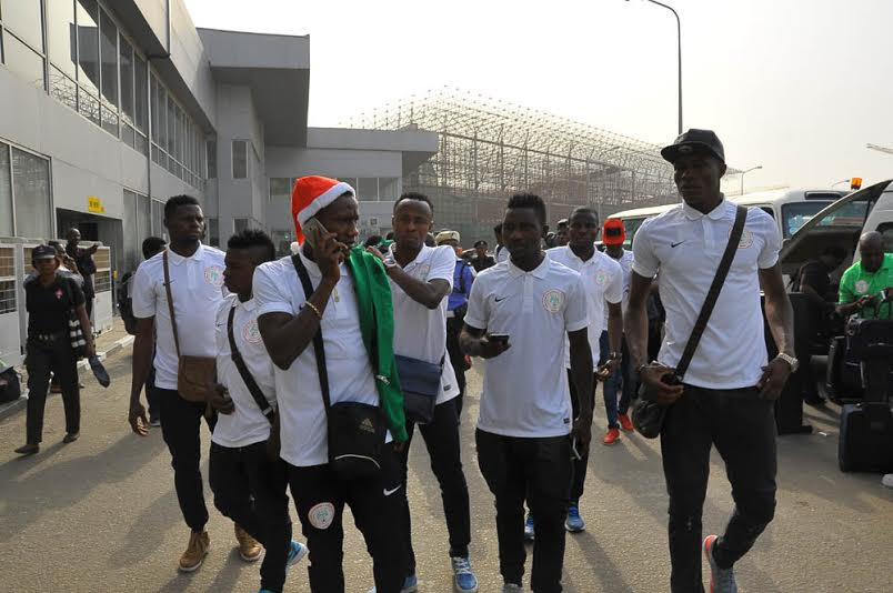 CHAN: Home Eagles Jet Out To South Africa Camp