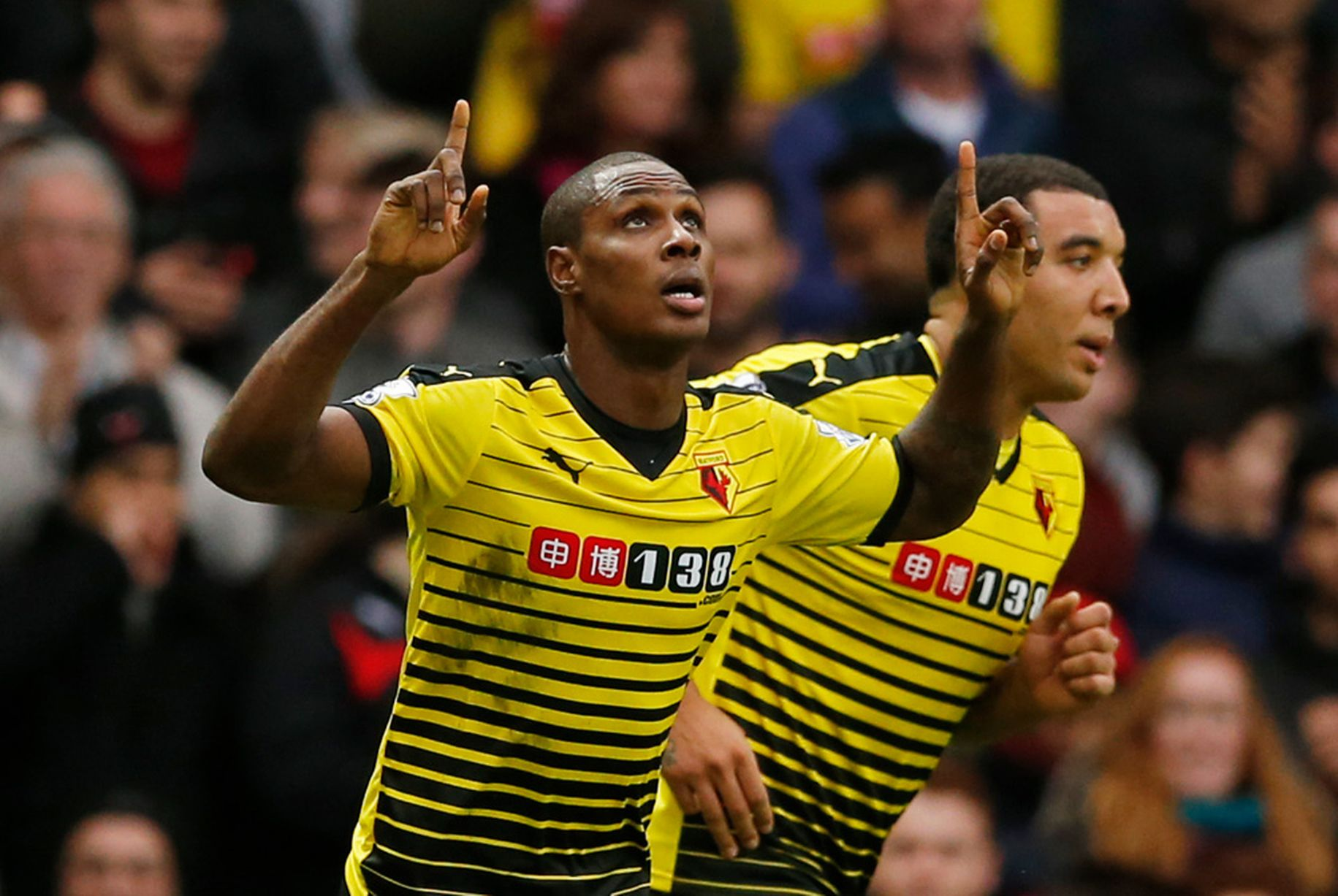 Crystal Palace Ace Hails Ighalo, Deeney Partnership